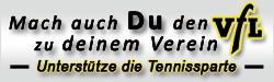 Tennis Mitglied werden